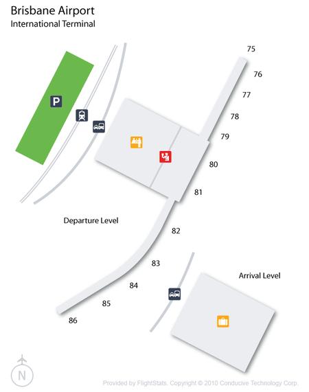 Схема международного терминала